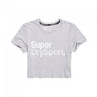 [해외]슈퍼드라이 Sport Essentials Crop True Grey Marl
