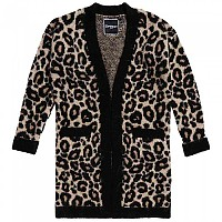 [해외]슈퍼드라이 Lisa Leopard Cardigan Brown Print