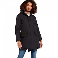 [해외]WRANGLER Long Parka Black