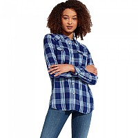 [해외]WRANGLER Western Check Blue Depths
