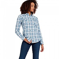 [해외]WRANGLER Western Check Angel Falls Blue