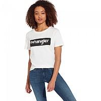 [해외]WRANGLER Logo White / Black