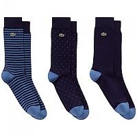 [해외]라코스테 Socks 3 Pair Navy Blue / King