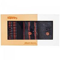 [해외]슈퍼드라이 Boxed City Triple Pack Dk Grey / Orange / Black Pattern