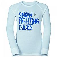 [해외]오들로 Shirt L/S Crew Neck Warm Trend Big White