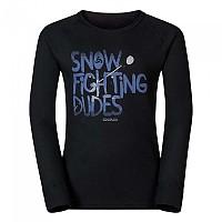[해외]오들로 Shirt L/S Crew Neck Warm Trend Big Black