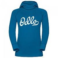 [해외]오들로 Warm Shirt L/S With Facemask Mykonos Blue