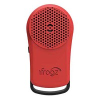 [해외]iFROGZ AUDIO Key Chain Tadpole Bluetooth Speaker Red