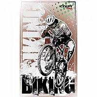 [해외]STT SPORT Crazy Towel Mountainbike Terry Loop Black