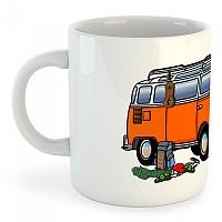 [해외]KRUSKIS Mug Hippie Van Climbing White