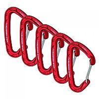 [해외]WILDCOUNTRY Astro Anodised 5 Pack Red