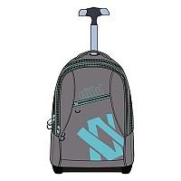 [해외]VOLKL Free Laptop Wheel Bag Gray