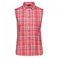 [해외]CMP Woman Shirt Red Fluo / Off White / Ice