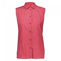 [해외]CMP Woman Shirt Coral / Off White / Hibiscus