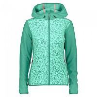 [해외]CMP Jacket Fix Hood Aquamint / Mint