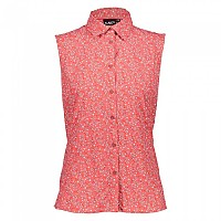 [해외]CMP Woman Shirt Coral / Hibiscus