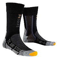 [해외]X-SOCKS Trekking Silver Air Force One Black Anthracite
