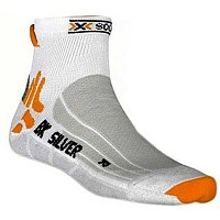 [해외]X-SOCKS Biking Silver White / Grey