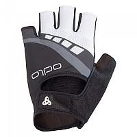 [해외]오들로 Gloves Short Iron Black / Odlo Graphite Grey