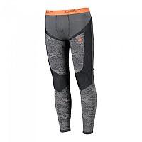 [해외]오들로 Blackcomb Evolution Warm Pants Black / Odlo Concrete Grey / Orangeade