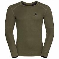 [해외]오들로 X Warm Shirt L/S Crew Neck Winter Moss Melange