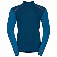 [해외]오들로 Warm Shirt L/S Turtle Neck Blue Opal / Mykonos Blue