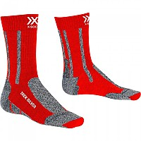 [해외]X-SOCKS Silver Crimson Red / Dolomite Grey