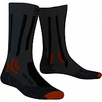 [해외]X-SOCKS Dual Granite Grey / Bonfire Orange