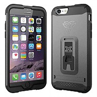 [해외]ARMOR-X CASES Rugged Case Kickstand for iPhone 6 Gold
