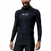 [해외]iQ-Company UV 300 Hooded Shirt Black
