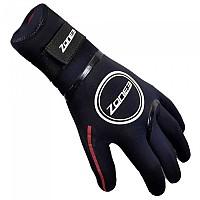[해외]ZONE3 Neoprene Heat Tech Gloves Black