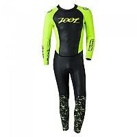[해외]ZOOT Wave Free Swim SMU Black / High Viz Yellow
