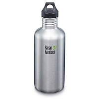 [해외]KLEAN KANTEEN Kanteen Classic With Loop Cap 3.0 1.2L Brushed Stainless
