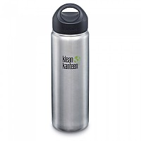 [해외]KLEAN KANTEEN Kanteen Wide With Stainless Loop Cap 800ml Brushed Stainless