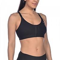 [해외]아레나 Sports Bra High Support Flora Black / Black / Black