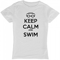 [해외]KRUSKIS Keep Calm And Swim White
