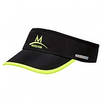 [해외]MISSION Cooling Visor Black / High Vis Green