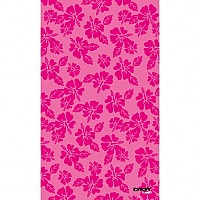 [해외]STT SPORT Crazy Towel Hawaiian Flowers Terry Loop Pink