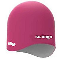 [해외]SWIMGO 3D Ball Cap Reversible Junior Pink / White