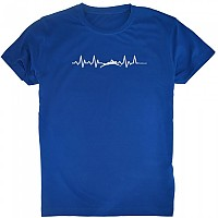 [해외]KRUSKIS Swimming Heartbeat Royal Blue
