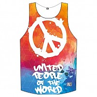 [해외]MISKO & JONES Singlet People White