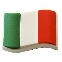 [해외]JIBBITZ Italy Flag 12 Green / White / Red