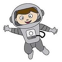 [해외]JIBBITZ Astronaut Grey