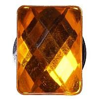 [해외]JIBBITZ Gemrectangle Sml Orange