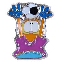 [해외]JIBBITZ Garfield Football Purple