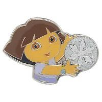 [해외]JIBBITZ Dora Snowflake Glitter Card Grey