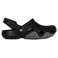 [해외]크록스 Swiftwater Clog Black / Charcoal