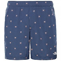 [해외]노스페이스 Class V Pull On Trunk Short Urban Navy Hatchet Print