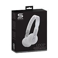 [해외]SOUL Ultra Light Weight On-Ear Headphone White
