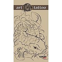 [해외]STT SPORT Crazy Towel Art Tattoo Compact Brown